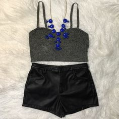 American Apparel Knit Bralette Top Americal Appael Top features spaghetti straps and a vintage-inspired sweetheart neckline.  A great foundation piece or worn on its own! NWOT American Apparel Tops Crop Tops