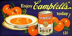 Campbell's Soup ad, 1926. #vintage #food #1920s #ads