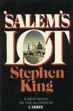 Stephen King.  Love. Love. Love.  My favorites are Salem's Lot, The Stand, It, The Shining and The Talisman.  Stephen King has to be the most fascinating person....his imagination astounds (and scares) me!
