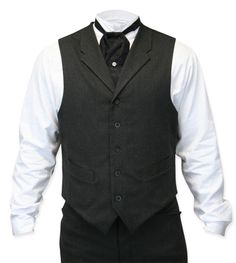 Callahan Vest - Charcoal This is a great web site for vintage and Victorian men's clothes!