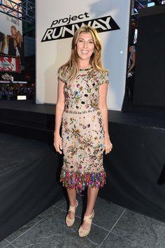 Nina Garcia in Dolce & Gabbana (Project Runway Season 10)