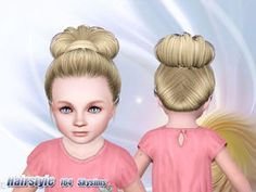 Sims 3 Hair For Toddler (Girl)