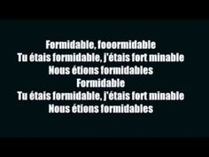 Stromae - Formidable (French song ^.^) Stromae's amazing.