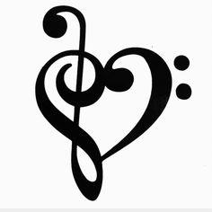 Music tattoo designs lyrics treble clef new ideas Music Tattoo Designs, Music Tattoos, Trendy Tattoos, Cool Tattoos, Music Note Nails, Music Silhouette, Music Festival Hair, Music Clipart, Note Tattoo