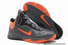 536845-002 Nike Zoom Hyperchaos X Charcoal Total Orange-Black Sale