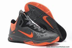 536845-002 Nike Zoom Hyperchaos X Charcoal Total Orange-Black Sale