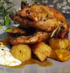 Spicy roast Partridge recipe, quick and easy to prepare and very tasty. Just right for younger early season Partridge. Recipe serves 4