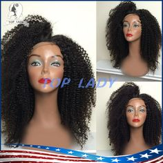 Brazilian Afro Kinky Curly Wig Glueless Virgin Hair Lace Front Wig Kinky Curly Full Lace Human Hair Wigs For Black Women Natural Wigs For White Women Lace Top Wigs From Topladyhouse, $94.53| Dhgate.Com