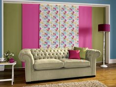 View our Bolton Blinds range of panel blinds. Choose from a stunning selection of colours, patterns, fabrics and fitting options. Panel Blinds, Blinds For You, Patio Doors, Large Windows, Pink Color, Larger, Love Seat, Living Spaces, Divider