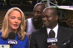 The Best NBA Photobombs, Kevin Garnett, Boston Celtics
