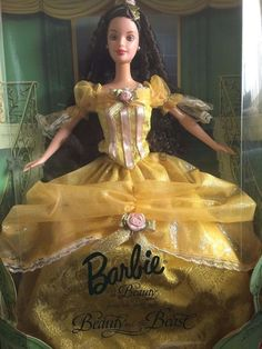 Barbie Collector Edition 24673 Disney Beauty and the Beast 1999 UNSEALED #Mattel #DollswithClothingAccessories