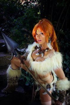Nidalee - League of Legends by *Calssara on deviantART