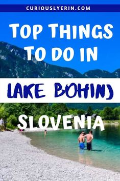 Here are the top things to do in Bohinj. Discover the Julian Alps and Triglav National Park from your base of Lake Bohinj. Ensure you hike the black lake and visit Savica Waterfall Best Places To Travel, Cool Places To Visit, Beach Trip, Beach Travel, Summer Travel, Travelling Europe, Travel Europe, Travel Advice, Travel Guides
