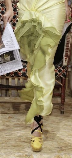 Lime Sherbet, John Galliano