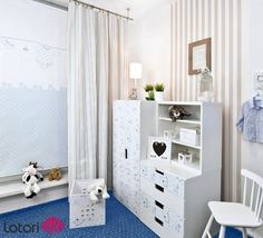 Perfect B kitny pok j malucha children room blue