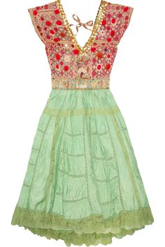 One Vintage. So fun and Bohemian. Love except for the sequin trim.