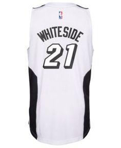 online store 12630 b8bb1 miami heat white out jersey