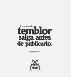 #Temblor #humor