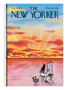 The New Yorker Cover - July 16, 1973 Premium Giclee Print