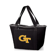 e802cc9d3703 Picnic Time Topanga Georgia Tech Yellow Jackets Print - Black College