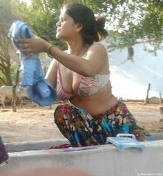 HD Indian aunty blouse