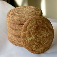Snickerdoodle Cookies ~ Cake Boss