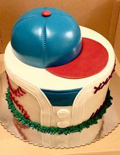 Baseball cake Baseball, Sport, Hats, Desserts, Food, Deporte, Tailgate Desserts, Meal, Hat
