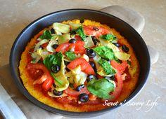 Sweet n' Savory Life: Italian Polenta Pizza *For Two*