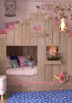 Bunk Bed and Nook