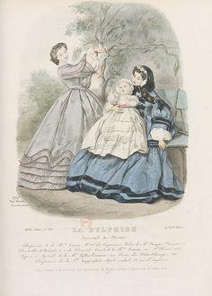 1861 La Sylphide, Journal de Modes