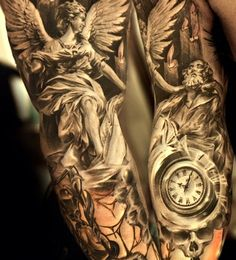 angel 3d tattoo ideas