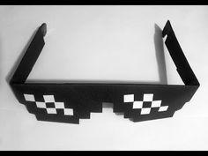 Jak zrobić: Okulary Thug Life z papieru #origami #okulary #glasses #thuglife #dealwithit