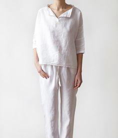 Luxury Linen Pajamas