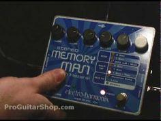 Electro Harmonix Memory Man with Hazarai - YouTube