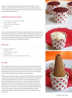 Santa Hat Cupcake Tutorial! CUTEST Cupcakes Ever!