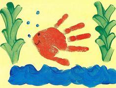 Рисуем ладошками / Дети - это счастье!