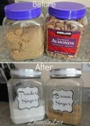 Easy Spray Paint Ideas That Will Save You A Ton Of Money Re-purpose canisters for the pantry! -- 29 Cool Spray Paint Ideas That Will Save You A Ton Of MoneyRe-purpose canisters for the pantry! -- 29 Cool Spray Paint Ideas That Will Save You A Ton Of Money Home Projects, Home Crafts, Diy Home Decor, Diy And Crafts, Craft Projects, Budget Crafts, Craft Ideas, Spray Paint Projects, Apartment Projects