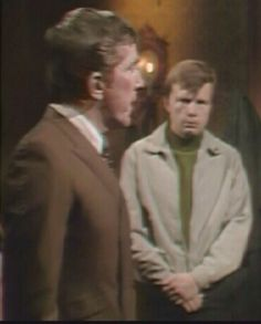 Barnabas Collins and Willie Loomis