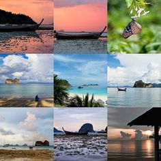 Here are my #bestnine2016 #thailand looking stunning in 2016  oh and a little bit of #Malaysia  #travel #travelphotography #sunset #living #nature #beautiful #beach #holiday