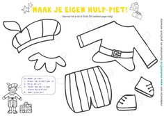 maak je eigen hulp piet Diy For Kids, Crafts For Kids, Saint Nicolas, Too Cool For School, Color Themes, Google, Necklaces, Drawings, Noel