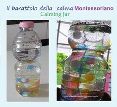 Montessori: il Barattolo della calma - Calming Jar