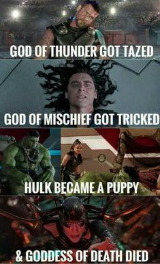 Family of Irony. Hulk is a family friend