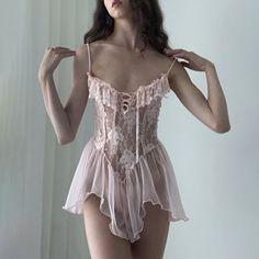 Sheer Dress, Silk Dress, Lace Silk, Lace Up, Casual Dresses, Short Dresses, Fairy Dress, Luxury Lingerie, Fashion Prints