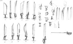 Sword Weapon Drafts by NoveliaProductions on deviantART