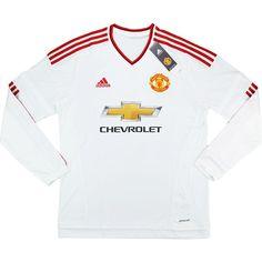 2015-16 Manchester United Away L S Shirt Schweinsteiger  31  w Tags fec8eff353c62
