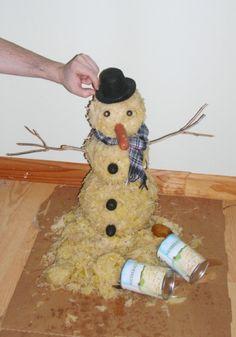 Sekunde, ich muss nur schnell meinen Schneemann aus Sauerkraut fertig bauen. | 49 Fotos, die dich ratlos zurücklassen, wie bisher nichts in deinem Leben
