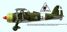 Fiat Cr-42 - 162a Squadriglia 161° Gruppo  - Rodi 1941