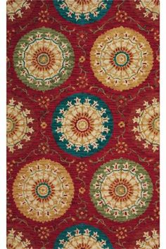 Paradise Area Rug comes in 8 foot round for entry, what do you think, you had 7foot before check and see if you could do extra foot,