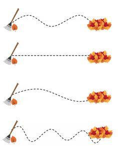 free printable leaf line tracing printables Body Preschool, Fall Preschool Activities, Preschool Education, Free Preschool, Preschool Printables, Preschool Lessons, Preschool Worksheets, Free Printables, Creative Curriculum