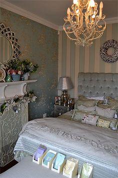 Dream bedroom 2 by Susan Hughes Dream Bedroom, Interiors, Blue, Furniture, Home Decor, Yurts, Decoration Home, Room Decor, Interieur